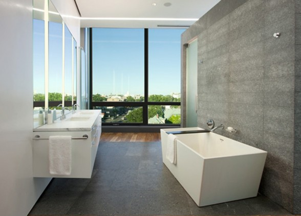 Great Design for Modern and Elegant Penthouse by ALTUS - Bathroom