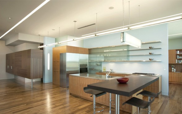 Great Design for Modern and Elegant Penthouse by ALTUS - Kitchen