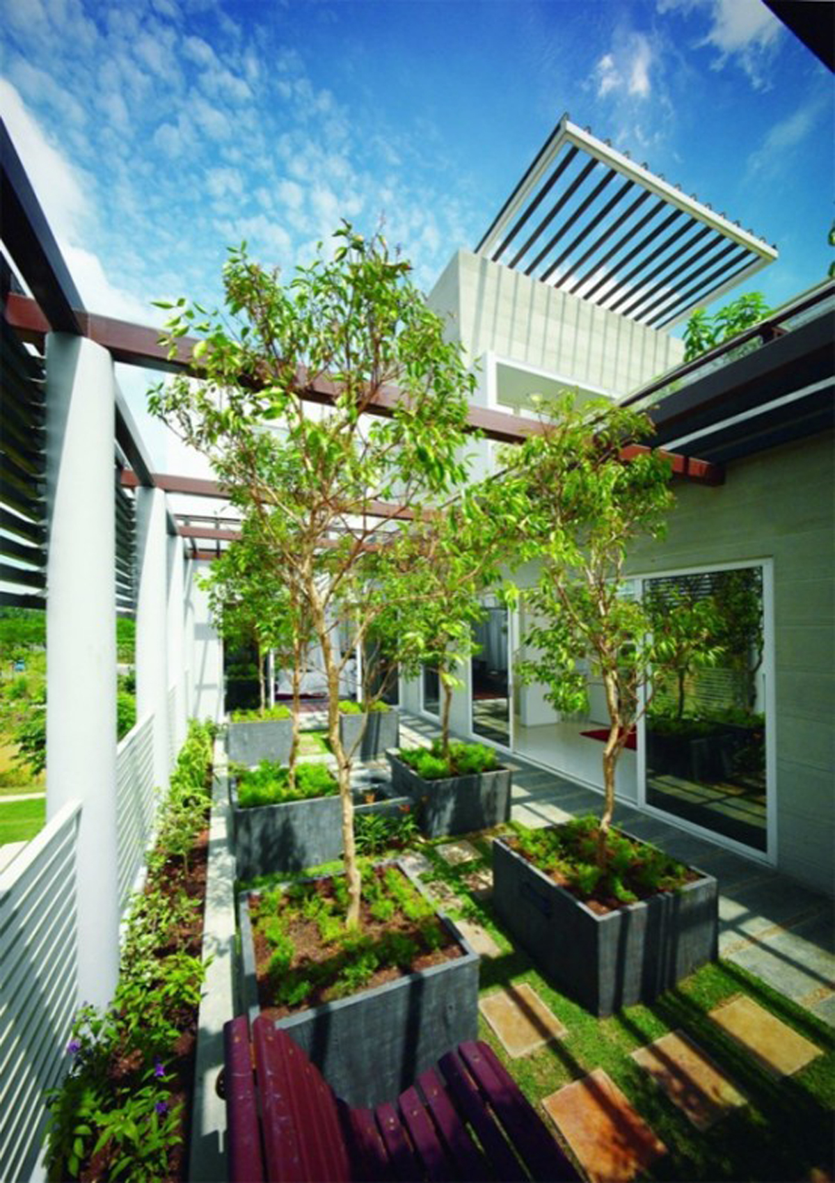 Great Tropical Houses in Urban Environment, Eco-Friendly Home ...