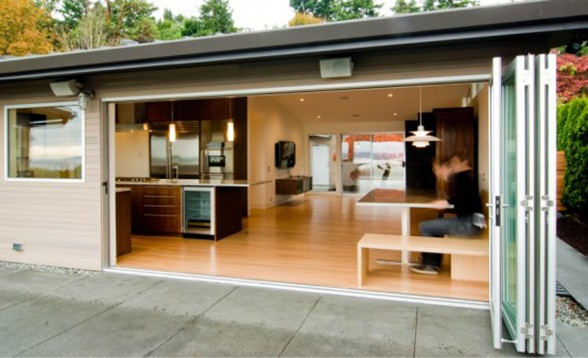 Humble Contemporary Home Design, A Renovated House Architecture - Terrace