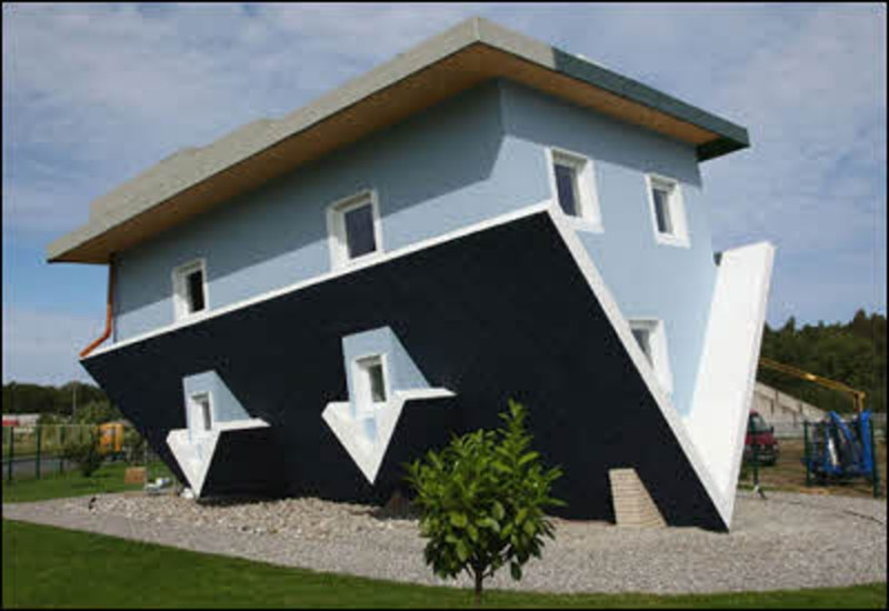 Inverted Home Design, Amazing Architecture Called Wonderworks