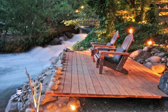 Kaweah Falls, A Rustic House Plans with Modern Design - The River