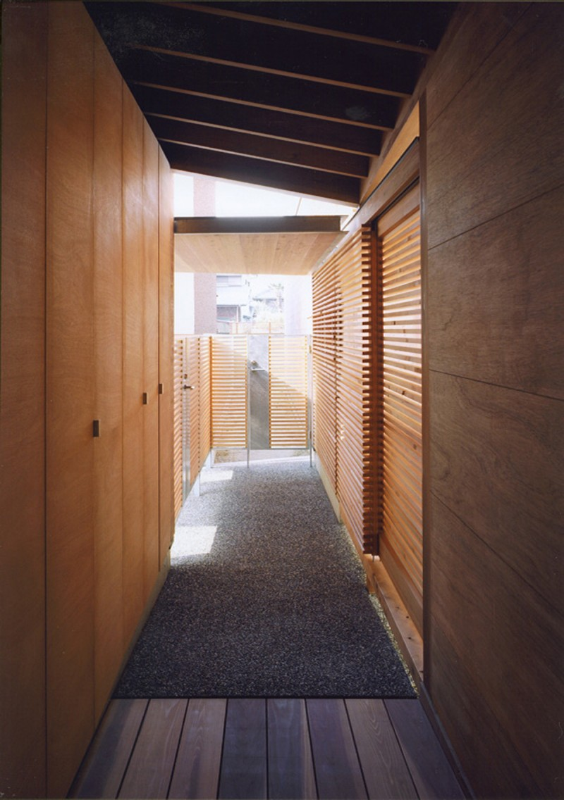 Modern Wooden House From Japanese Architect   Alley