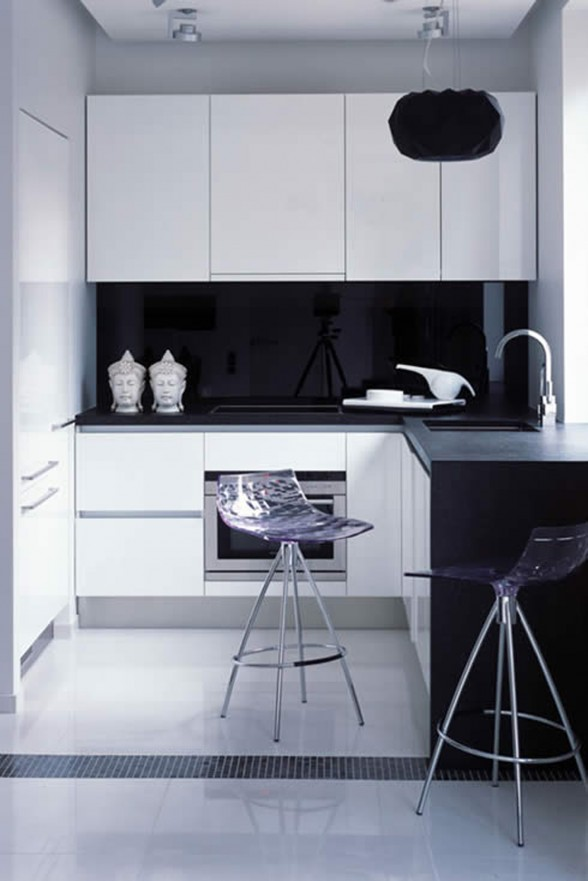 Modern and Elegant Apartment Inspiration for Young Generation from ERGES - Kitchen