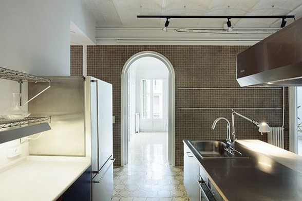 Renovated Apartment with Awesome Luxury Design - Kitchen