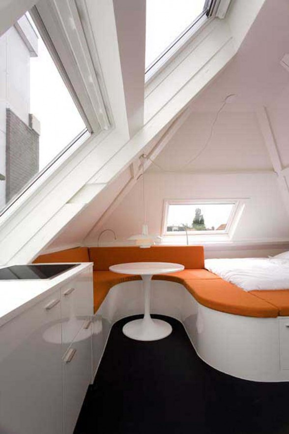Small Loft Apartment, A Beautiful Design from Queeste Architecten