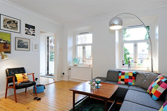 Three Rooms Apartment Diverse with Homey Interior