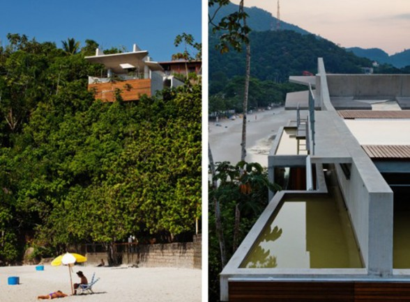 Ubatuba, Slope House in Beach of Tenorio - The Hill