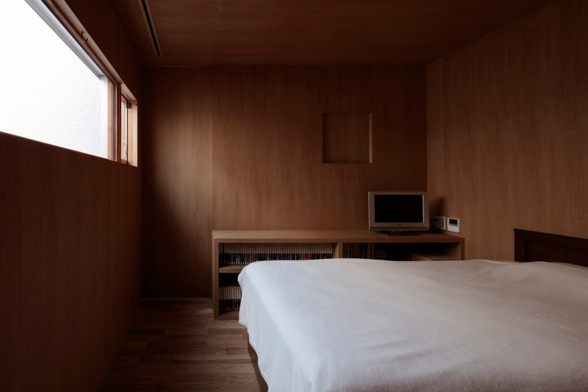 Café-House, Contemporary Home Design from Makoto Yamaguchi - Bedroom