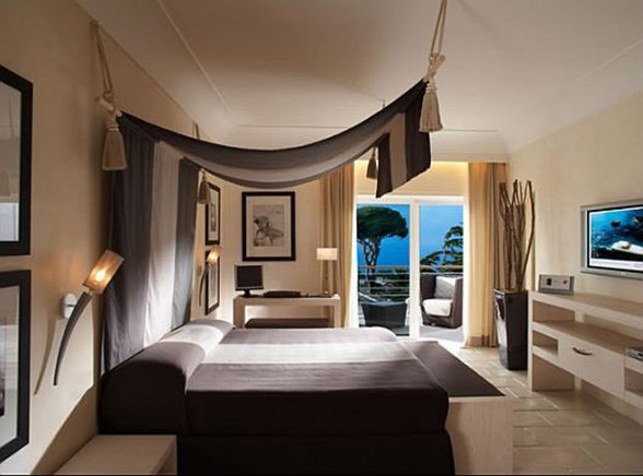 Capri Palace Hotel and Spa, Luxurious 5-Star Hotel Design Architecture - Bedroom