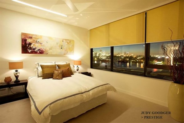 Executive Living Space, Dream Contemporary Apartment Design by Judy Goodger - Bedroom