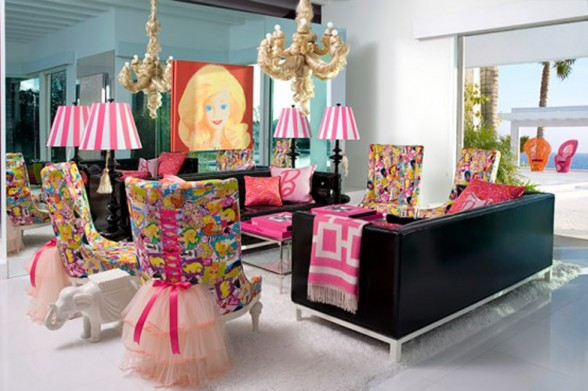 Malibu Dream House, Cute Barbie Themes Home Design