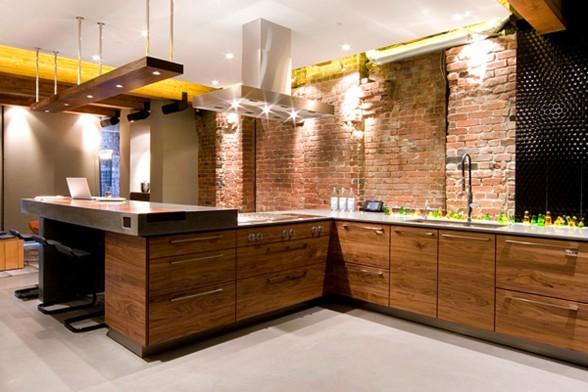 Modern Design from Kelly Reynolds, Modern Apartment in Vancouver - Kitchen