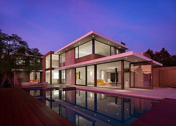 Modernity and Luxurious House Design in Exquisite Residence, the Evans House
