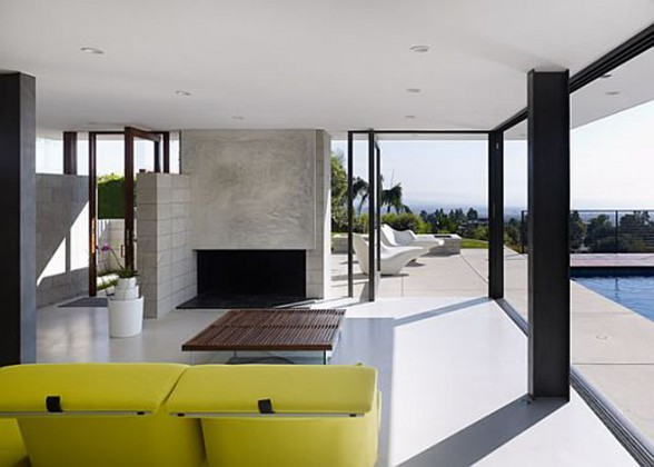 Modernity and Luxurious House Design in Exquisite Residence, the Evans House - Interior