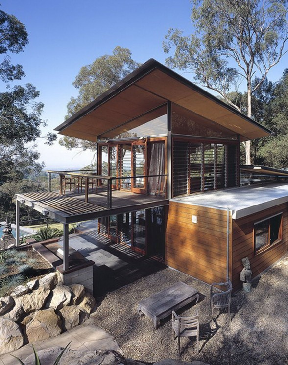 Airy Mountain House Inspiration from CplusC Architecture - Balcony