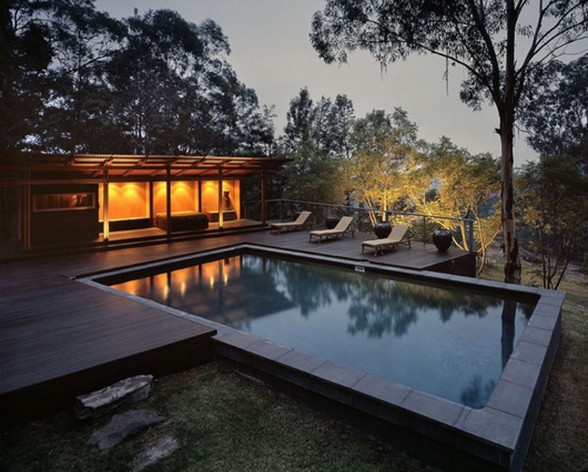 Airy Mountain House Inspiration from CplusC Architecture - Pool
