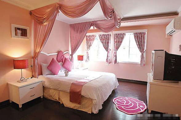 Another Fairy Tale House Design, the Hello Kitty - Bedroom