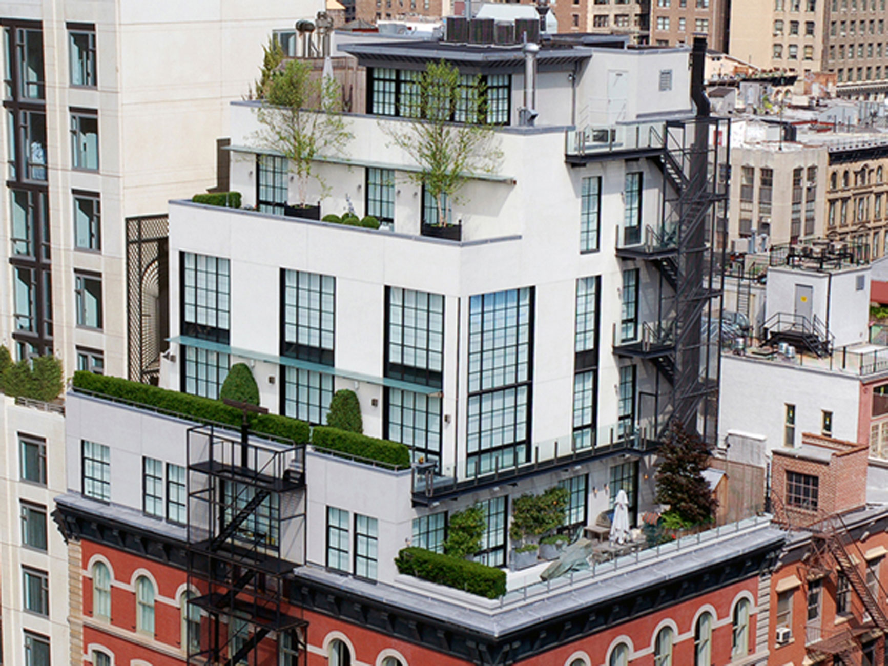 Astonishing NY Penthouse, Luxury and Exquisite Design of Sotheby - Building