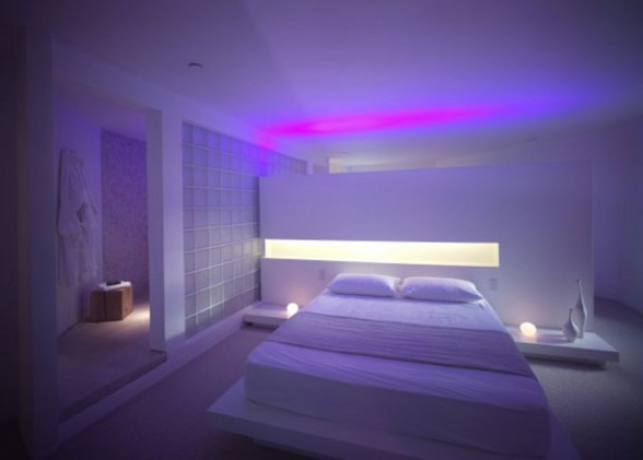 Award Winning Tower House, Ellis Williams Architect - Bedroom