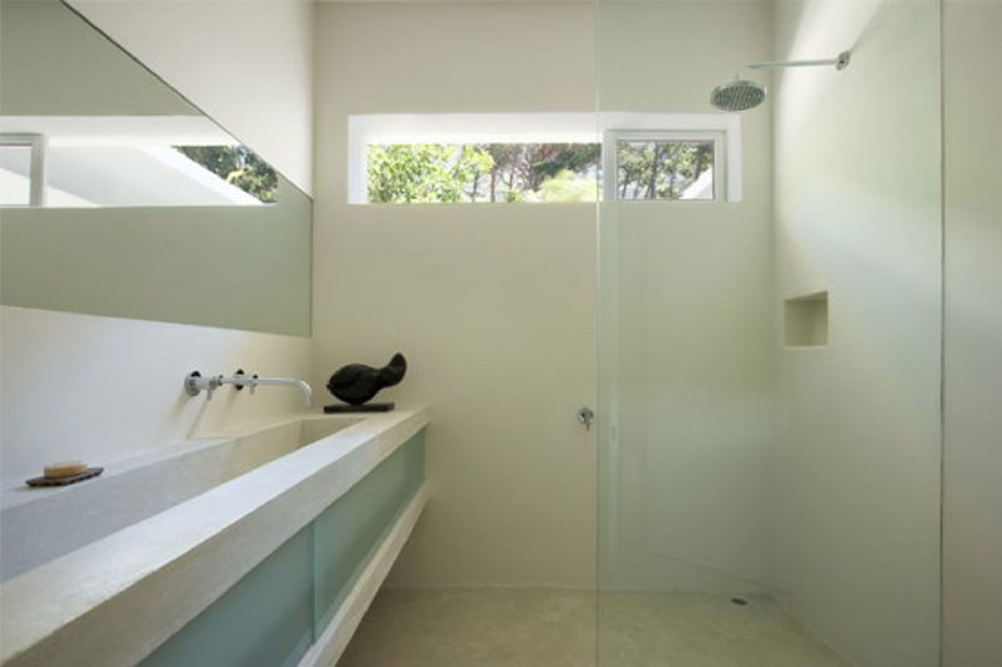 Beautiful House Architecture in South Africa, An Award Winner Design - Bathroom