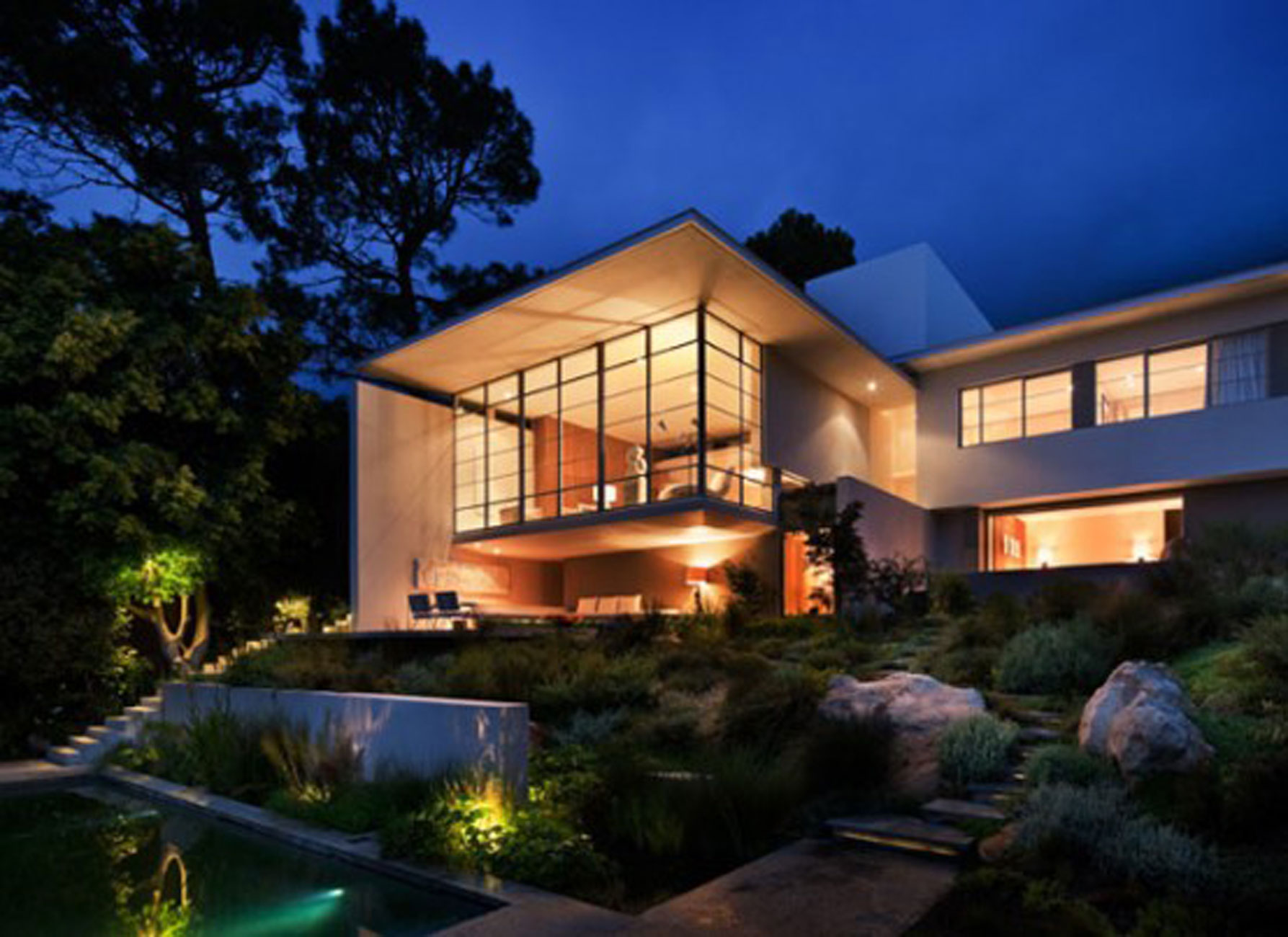 Beautiful house architecture in south africa an award for Beautiful architecture houses