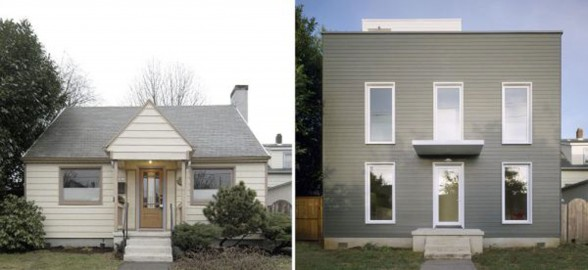 Beautiful Old House Renovated into A Minimalist Style House Design - Before After