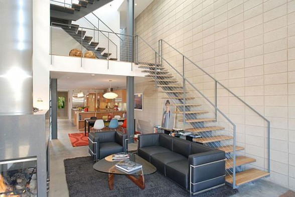 Broadway Residences, Beautiful Family Living Space from Stephen Vitalich Architects - Staircase