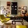 Contemporary Design and Dark Interior in Apartment Ideas by Kate Hume