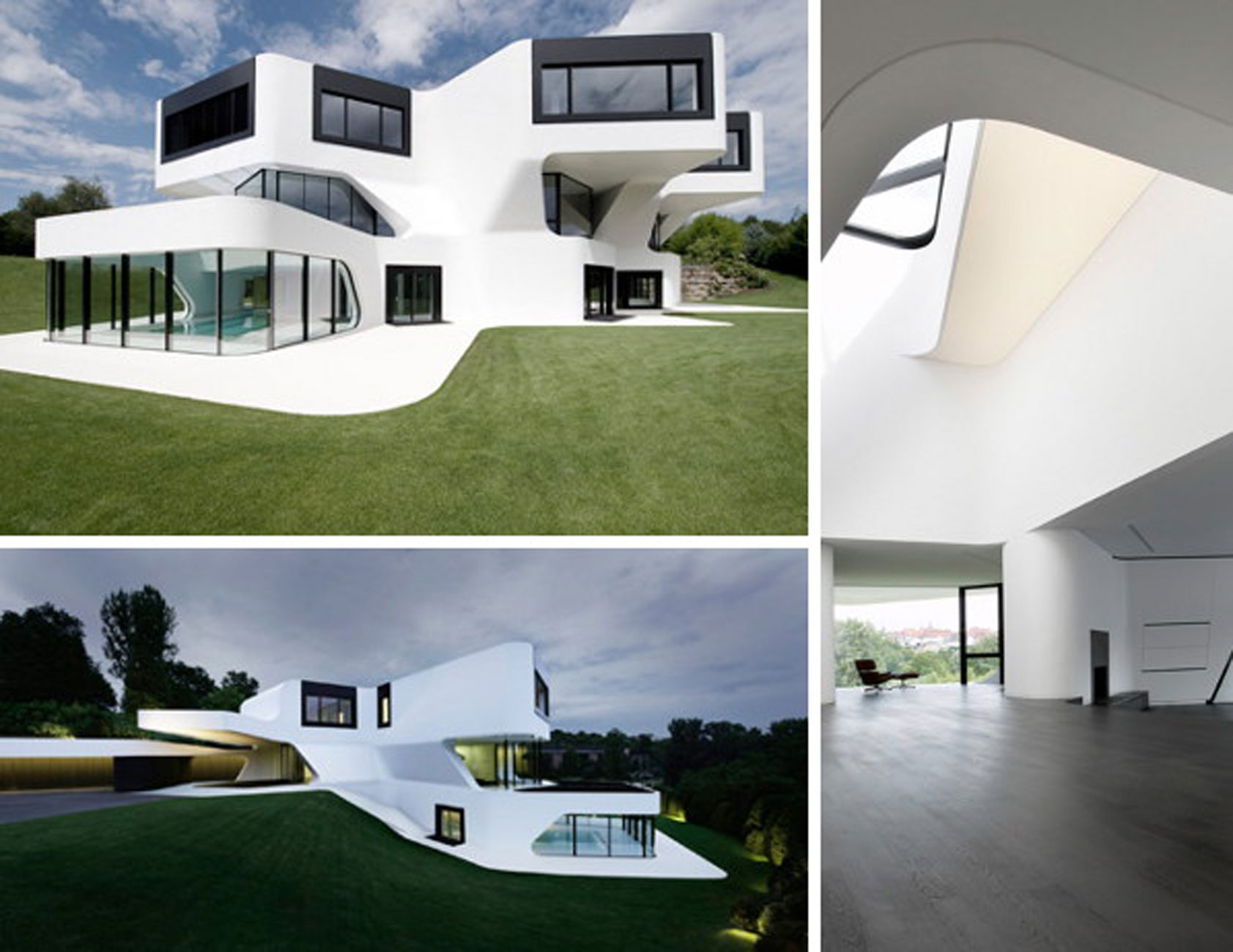 Contemporary Residence with Futuristic Design in Germany - Exterior