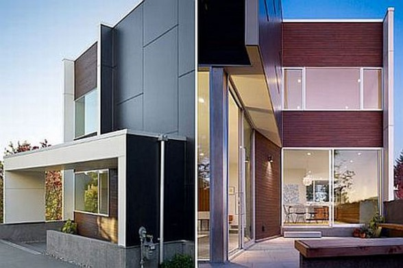 Cube Modern House for Your Dream Home - Facade
