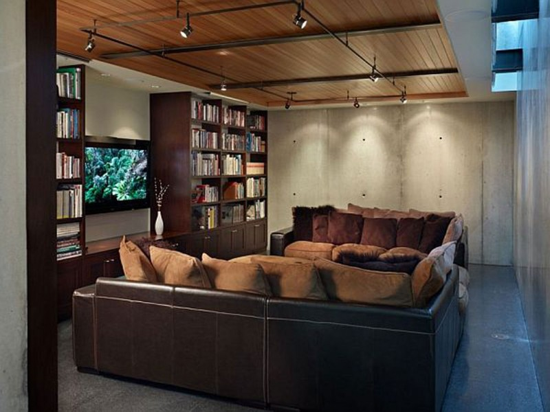 Elegance Contemporary House From Lawrence Architecture   Livingroom