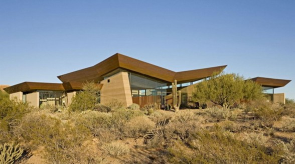 Fabulous Desert House in Arizona by Brent Kendle
