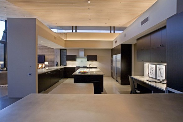 Fabulous Desert House in Arizona by Brent Kendle - Kitchen