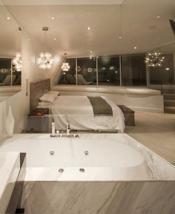 Future House Concept, Moebius House from Tony Owen Partners - Bedroom