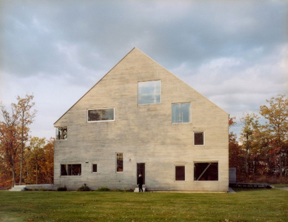 Goodman House, Unique Barn House Design from Preston Scott Cohen