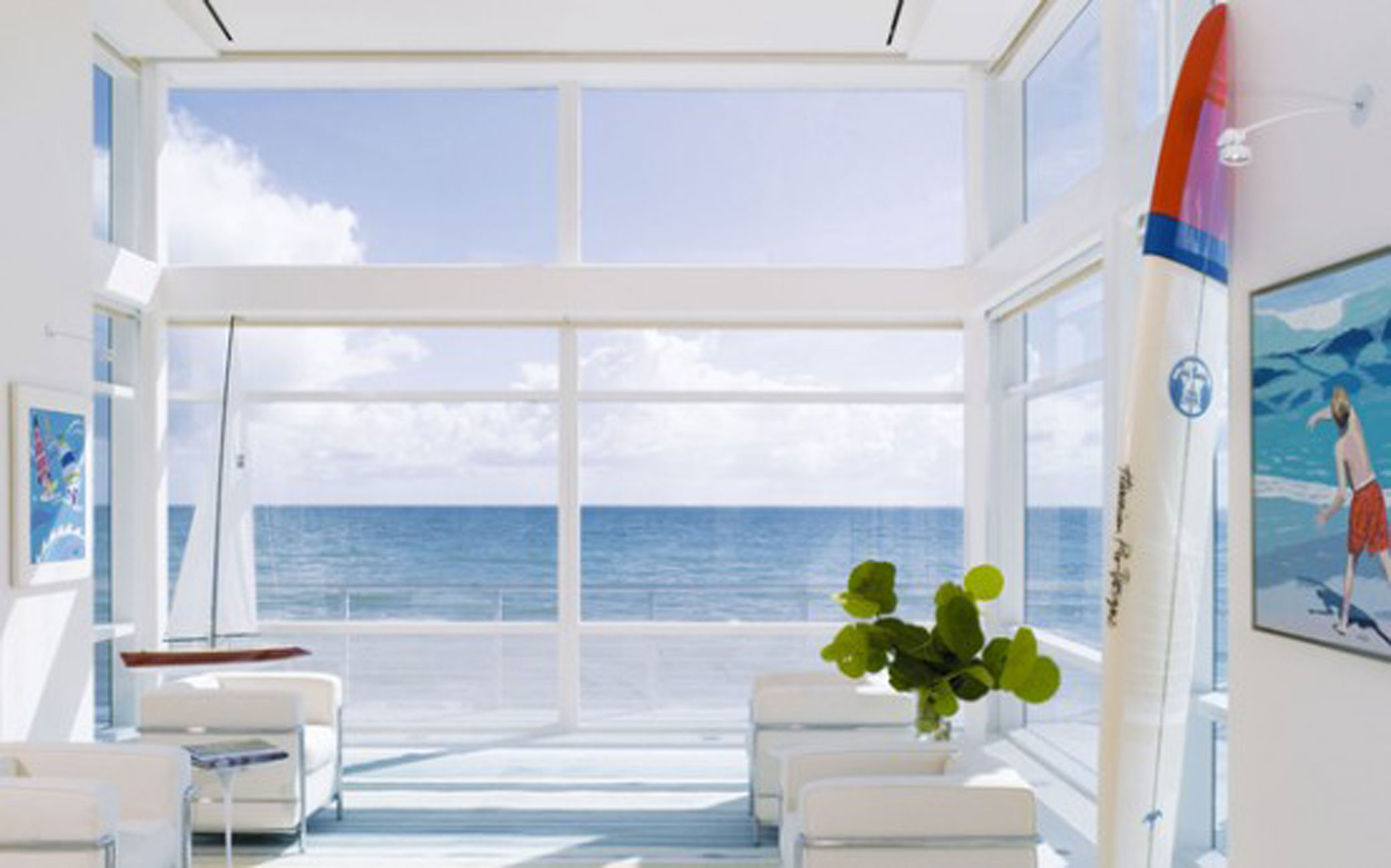 Great Beachfront House Design from Hughes Umbanhowar - Great Views