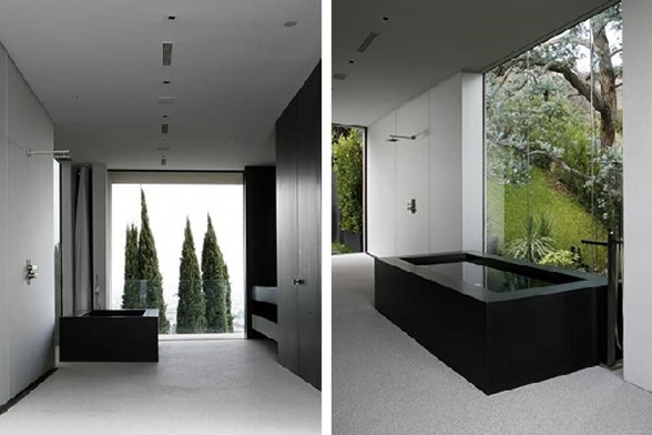 Hollywood Hills Residence, Spectacular View in Fabulous Site - Bathroom