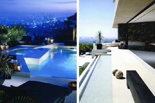 Hollywood Hills Residence, Spectacular View in Fabulous Site - Pool