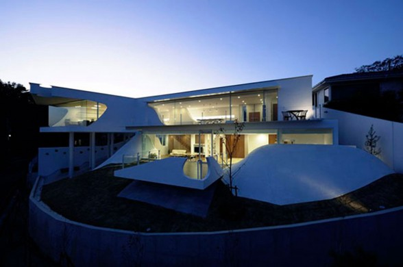 Japan Architect Design, Fabulous Mountain House in Hyogo
