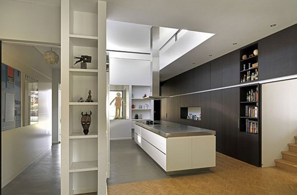 Netherland House Design, Eindhoven Modern Villa by De Bever - Kitchen
