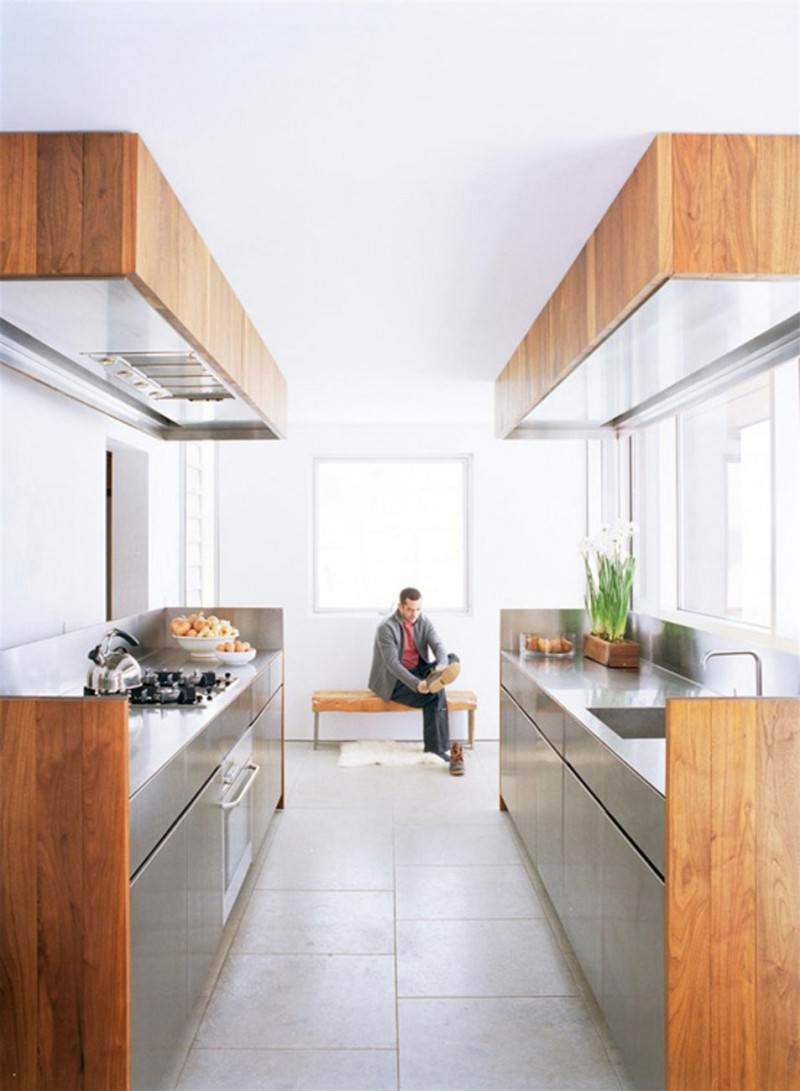 New York's Contemporary Renovated House Design   Kitchen