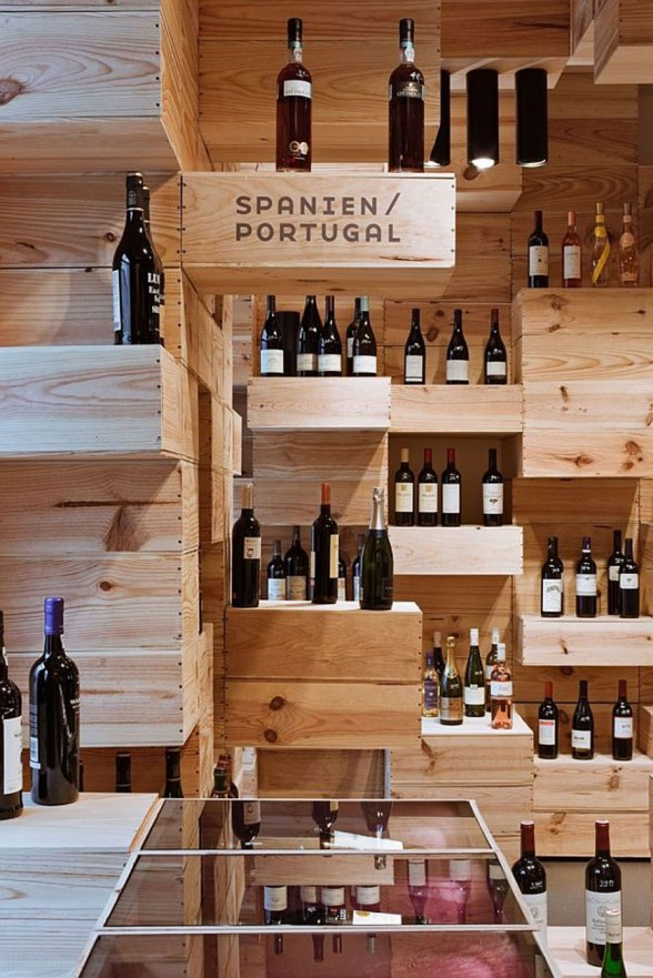 OOS Firm Design for the Albert Reichmuth Wine Store - Boxes