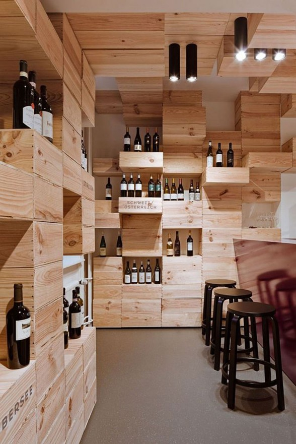 OOS Firm Design for the Albert Reichmuth Wine Store - Customer Seat