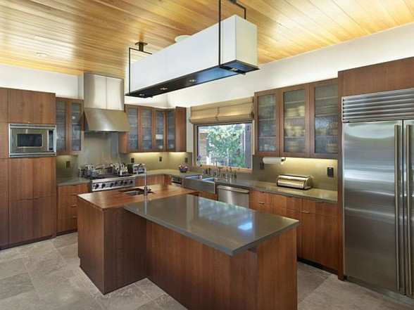 Renovated Road House with Contemporary Style - Kitchen