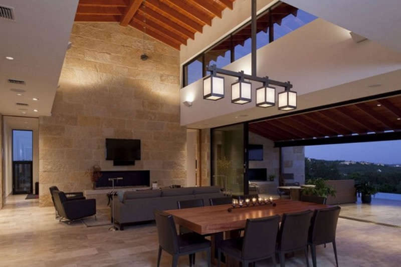 Rock Mountain House, Fabulous Design By Dick Clark Architecture