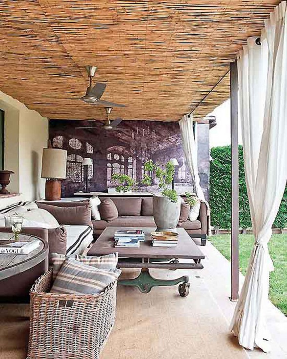 Rustic Interior Ideas from A Farmhouse in Spain - Terrace