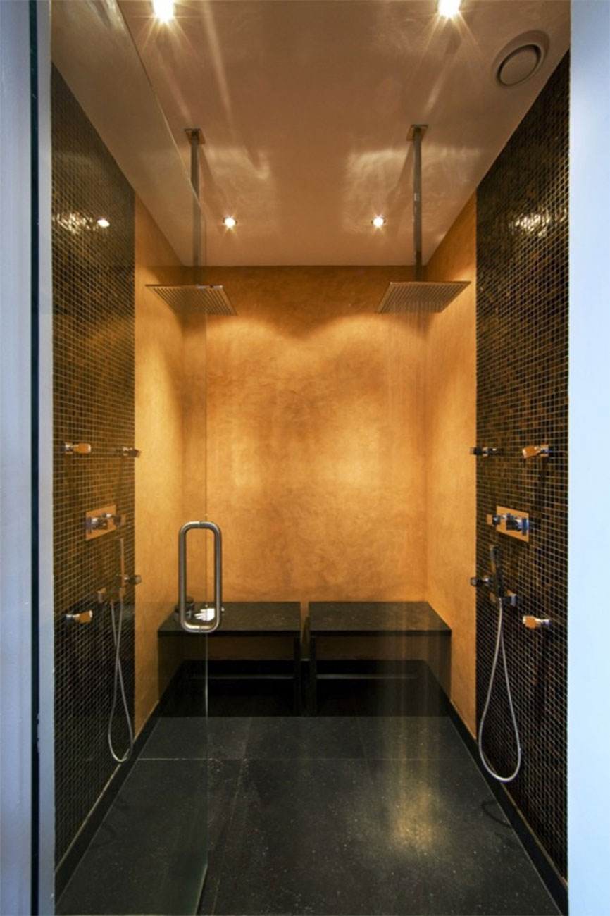 Rustic Style for a Modern House Design from Arjen Reas - Bathroom