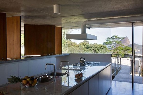 SPBR Arquitetos Design, The Santa Teresa House in Brazil - Interior