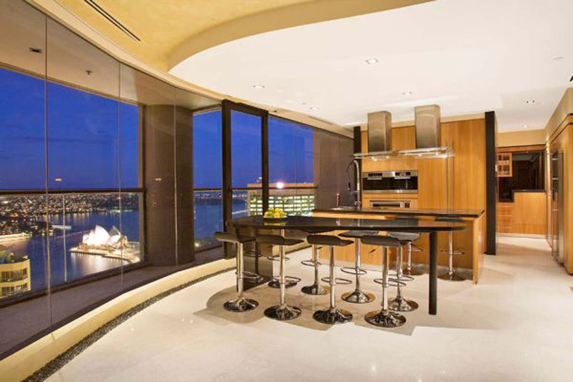 Sydney Fabulous Penthouse, Luxury Interior Ideas - Kitchen » Viahouse.